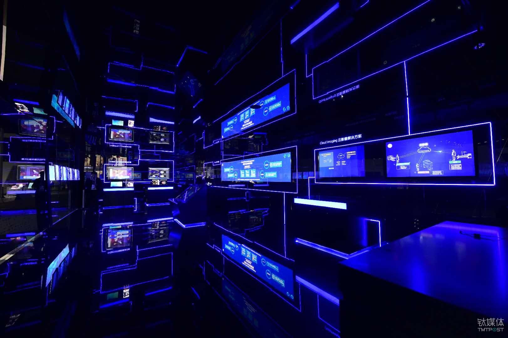 GE在2018年CMEF展上设置的数字医疗体验中心