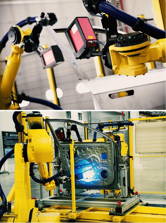 离线测量系统主要承担四门两盖的检测工作,在日常抽检中,相比三坐标的检测具有自动化率高、检测效率高等特点。目前,国内除了大型合资企业之外,仅有为数不多的整车制造厂拥有该类离线测量系统