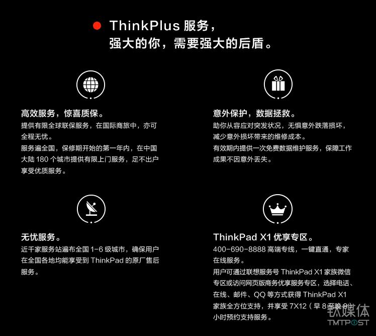 ThinkPad Plus 服务