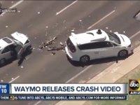 Uber之后,谷歌Waymo无人车再出事故,安全员轻伤 | 钛快讯