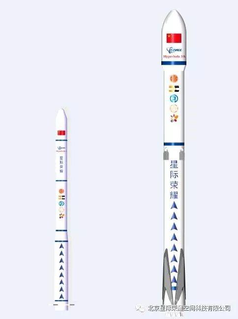 星际荣耀规划的火箭型号,图片来自星际官微