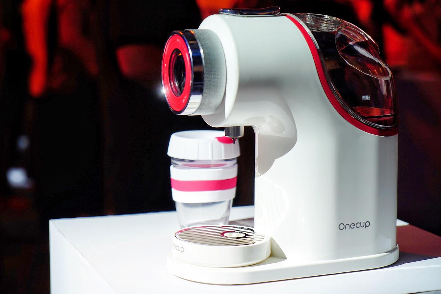 One cup新一代智能饮品机