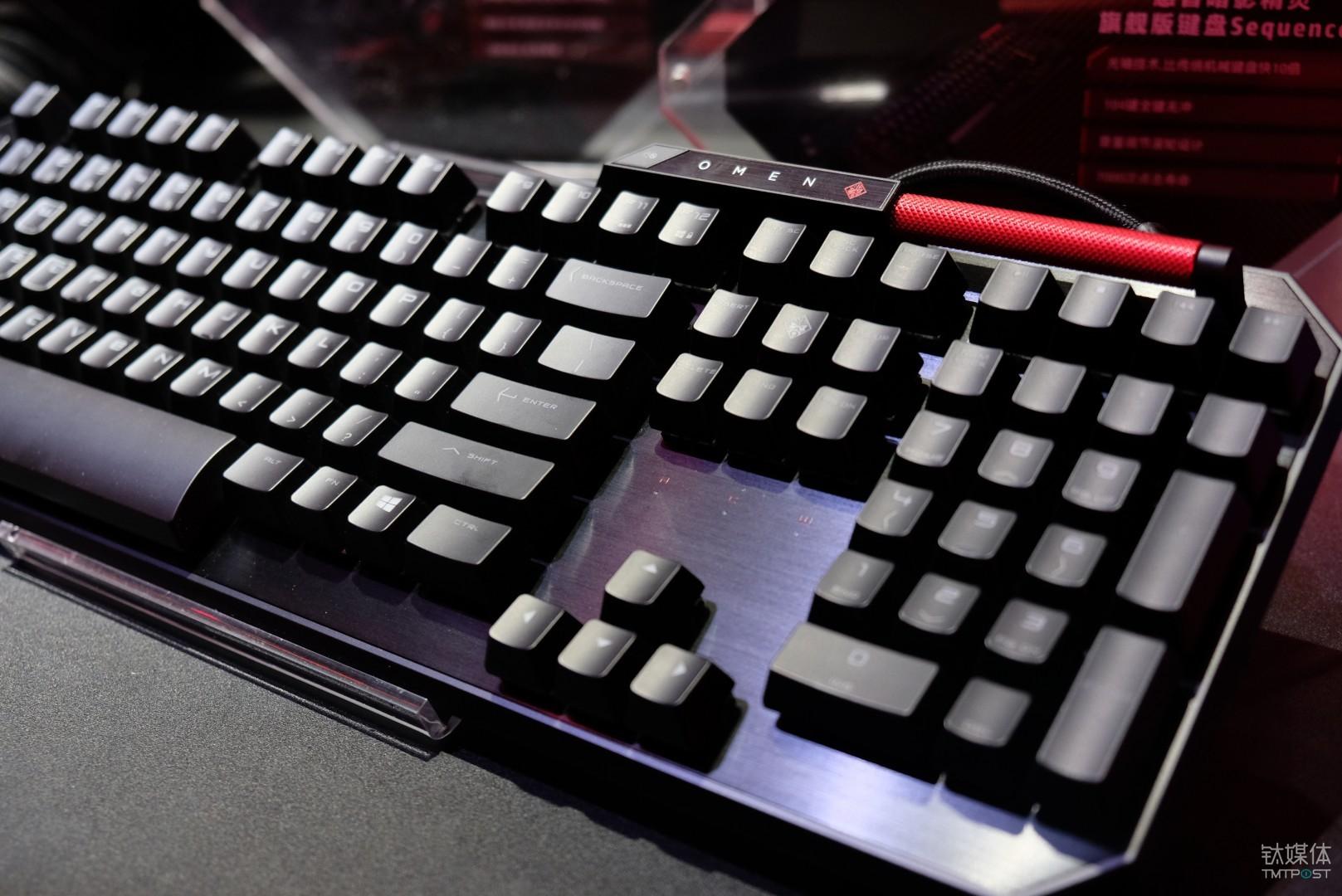 光轴键盘-暗影精灵 Sequencer
