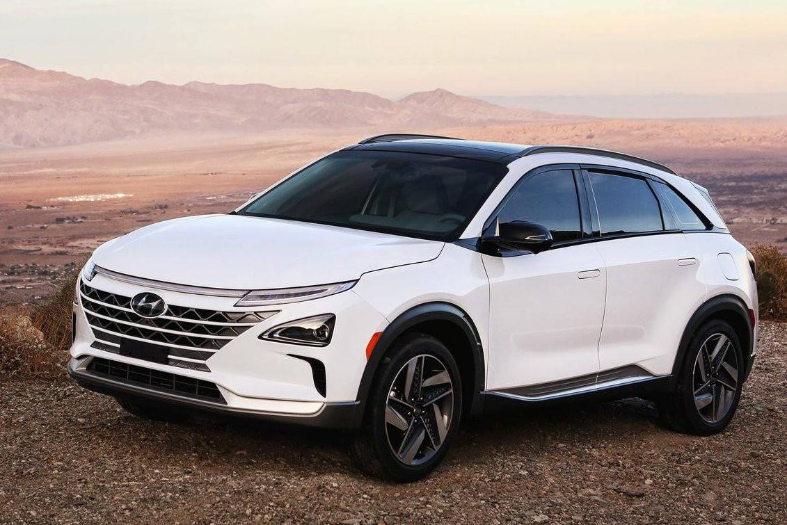 新一代氢燃料电池车NEXO