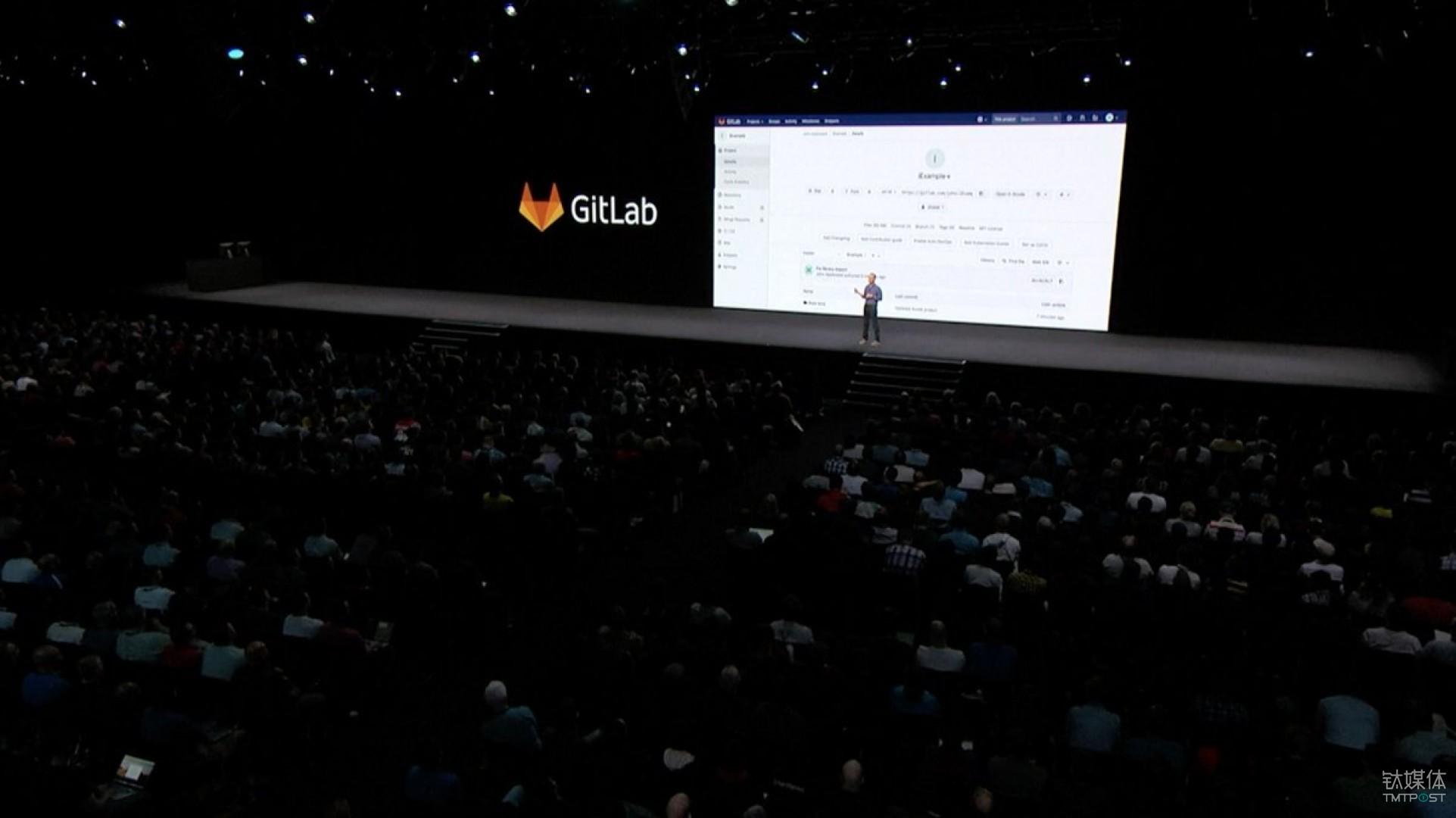 在2018年苹果公司的 WWDC 上,GitLab 与 Xcode 10整合 来源:GitLab@Twitter