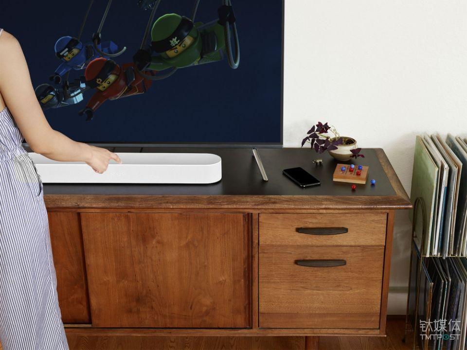 Sonos 智能音响家族添新成员,它给你的电视找了个伴