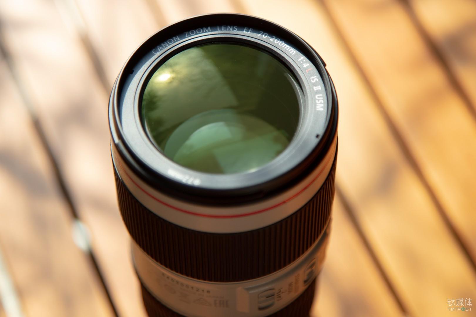 镜片经过了深度的优化镀膜