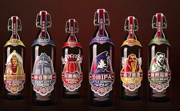 大跃啤酒瓶装产品