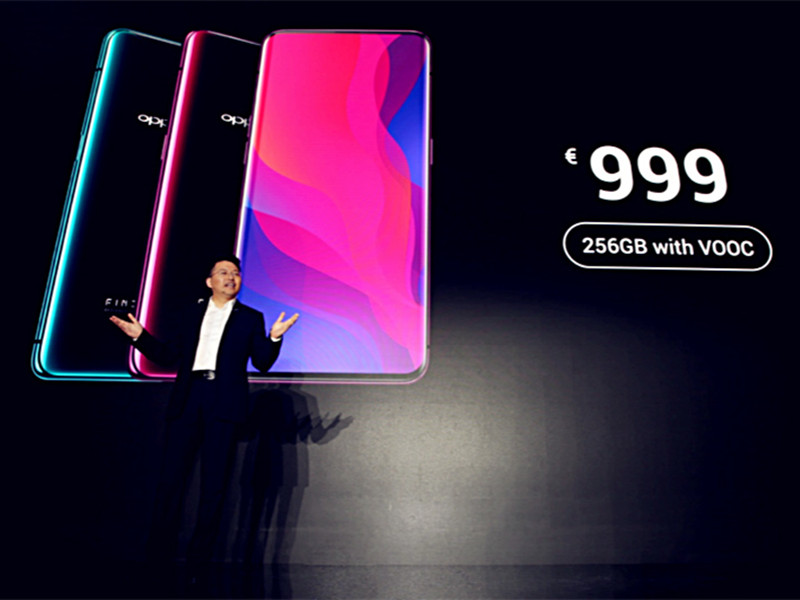 OPPO launches all-screen flagship smartphone Find X