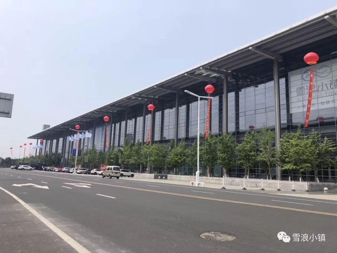 """被雪浪大会""""包围""""的太湖国际博览中心"""