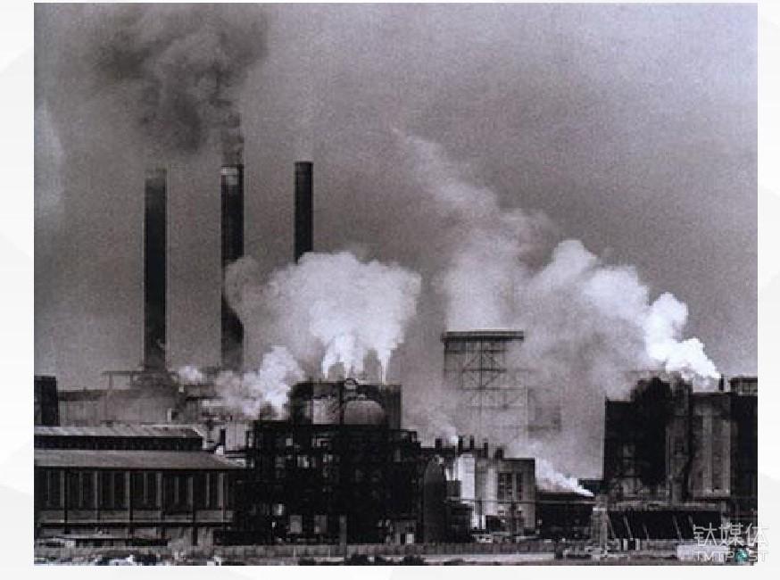 改造前的德国鲁尔工业区
