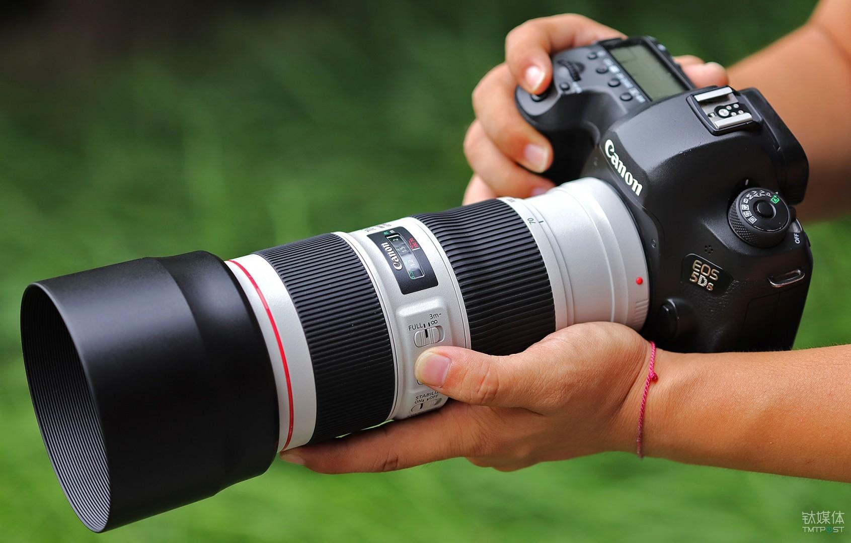 佳能EF 70-200mm f/4L IS II USM镜头+EOS 5DS机身