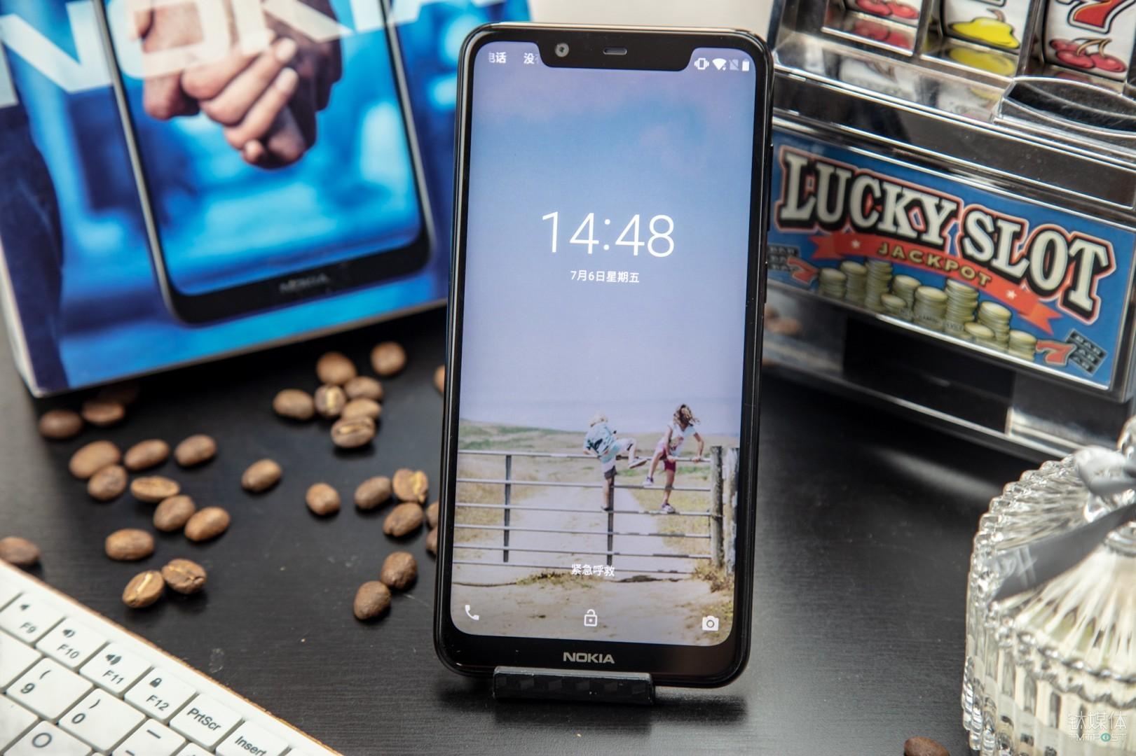 诺基亚X5智能手机