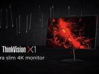 能靠实力吃饭却还长得这么帅,ThinkVision X1显示器评测   钛极客