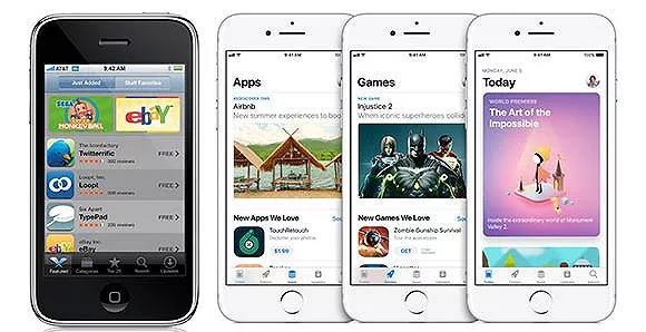 10年前后的App Store