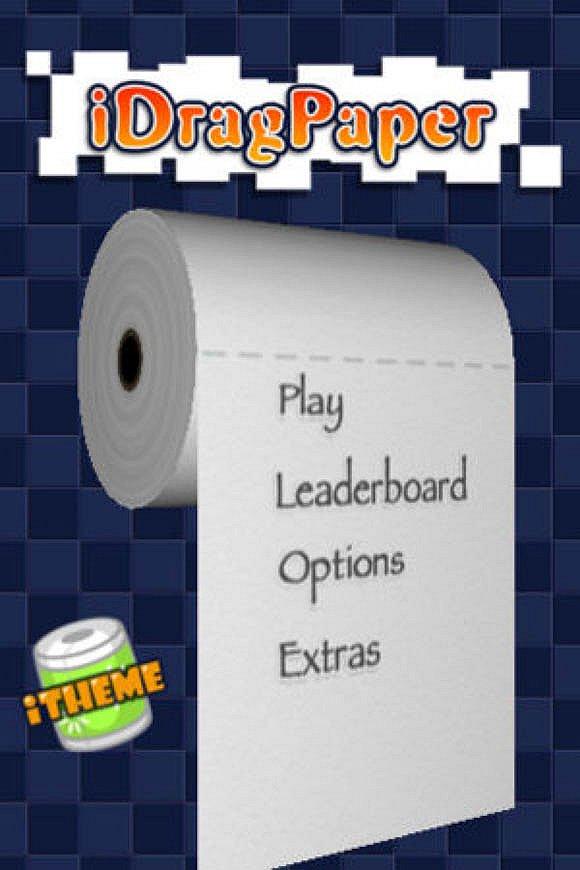 鲍嵬伟发布在AppStore的第一款游戏《iDragPaper》