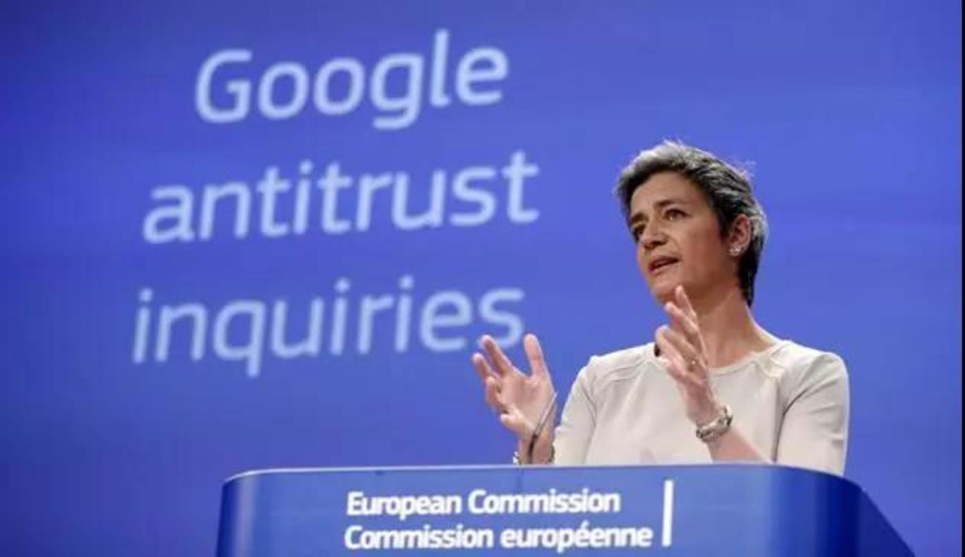 欧盟竞争委员会专员Margrethe Vestager