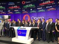 浏览器公司Opera在纳斯达克上市,开盘大涨近20% | 钛快讯