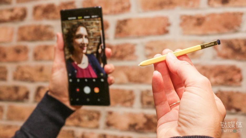 三星 Note 9 S Pen(photo via CNET)