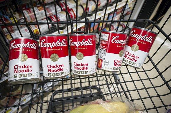 康宝品牌下的经典商品鸡汤面。图片来源:视觉中国