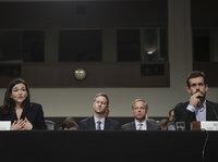 Facebook、Twitter高管出席听证会,美国社交媒体的好日子要结束了?