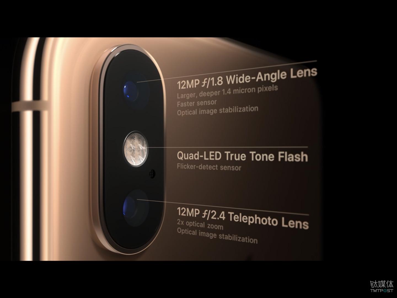 iPhone Xs 系列相机