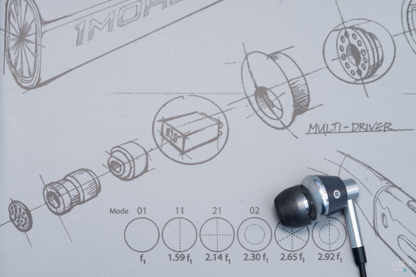 双动铁+单动圈组成的三单元结构