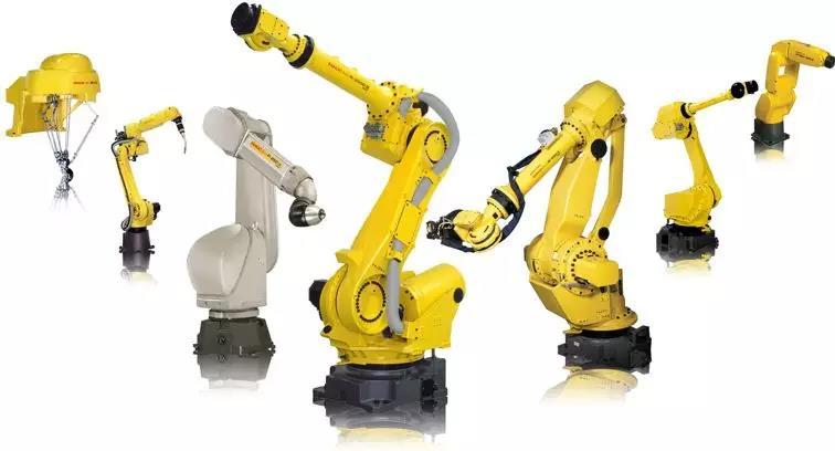 机械臂形态的工业机器人
