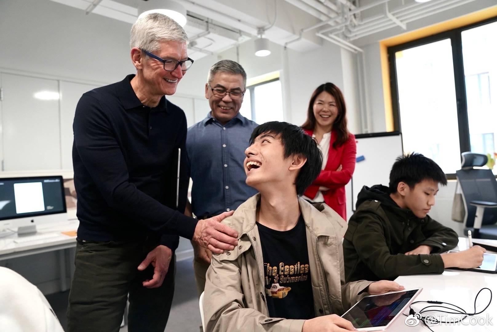 库克再次访华,从上海再到北京行程紧凑,还称苹果要加大对华投资