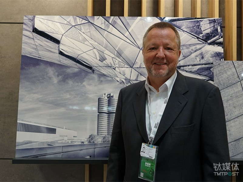 Reinhard Stolle, Vice President of Artificial Intelligence and Machine Learning for BMW Group