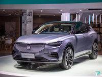 电咖高端品牌ENOVATE亮相,展出首款智能电动SUV ME7   一线车讯