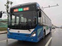 湖南湘江新区开放自动驾驶公交试运行,车路协同、5G配套技术全覆盖 | 钛快讯