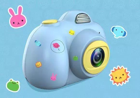 (贴纸样式随机发货) 相机内置600mah电池, 满电状态下可连续拍照约