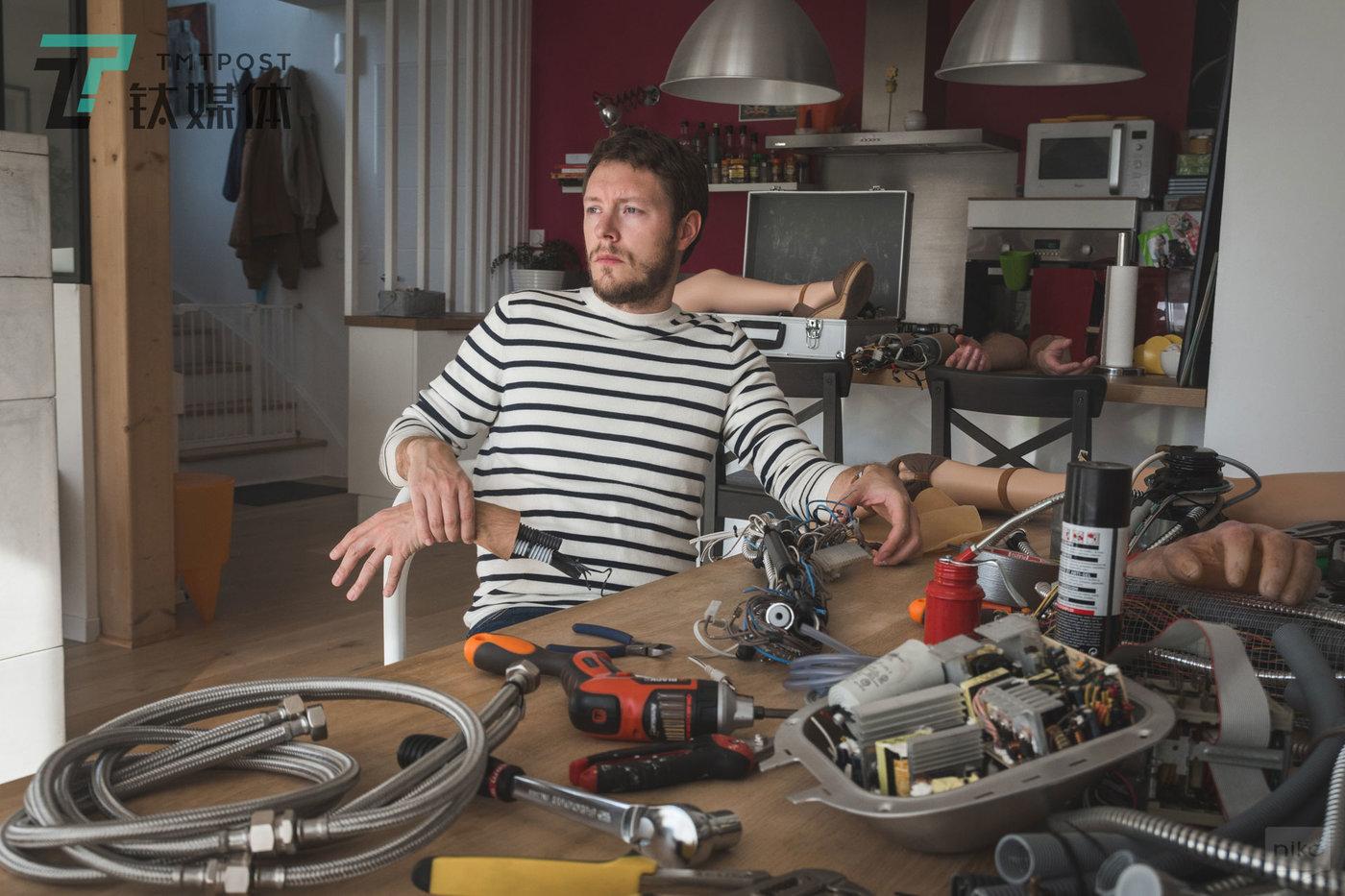 法国摄影师/UI、UX设计师 Nicolas Bigot