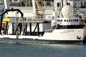 【图集】SpaceX回收船再次曝光:为载人飞行作准备