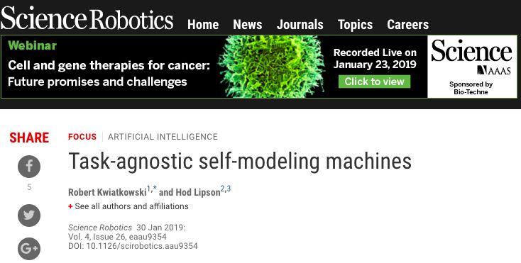 机器人真的有意识了,突破狭义AI的自我学习机器人问世