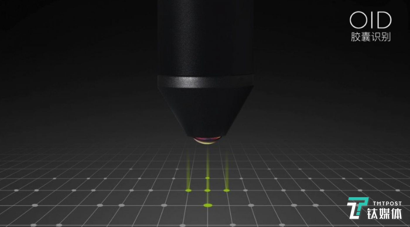 OID胶囊识别摄像头