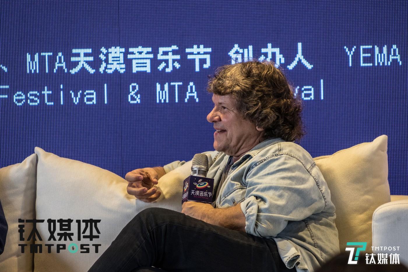 Michael Lang, co-creator of Woodstockk Music&Art Festival.