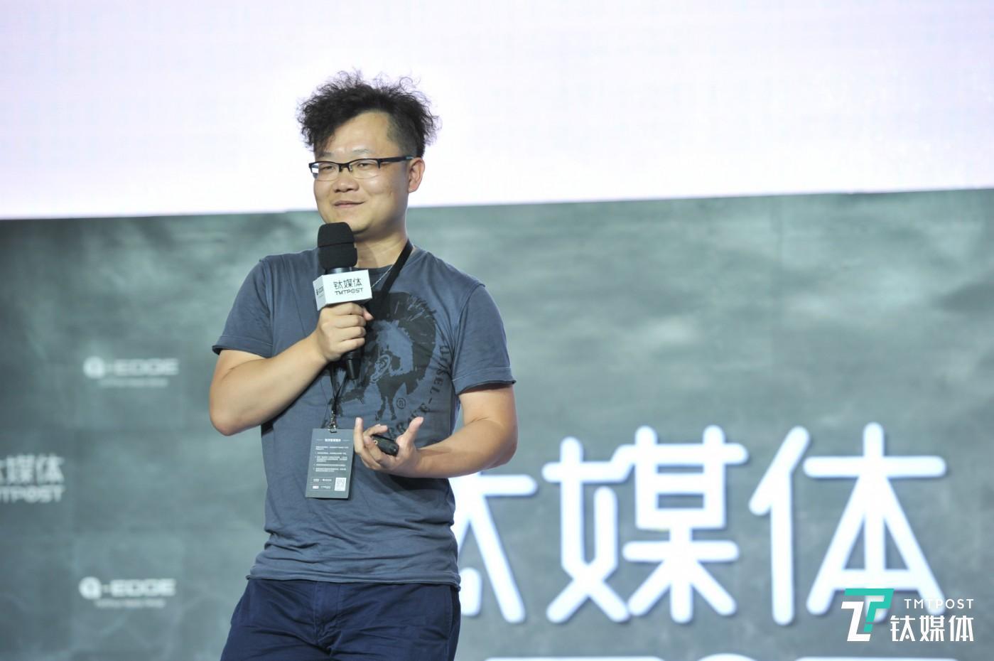 Musical.ly/Muse 联合创始人、CEO 阳陆育在钛媒体2017 T-EDGE 科技生活节