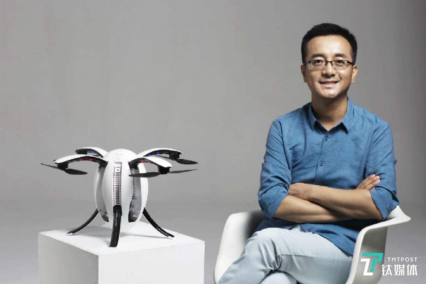 郑卫峰先生与臻迪Power Egg小巨蛋无人机