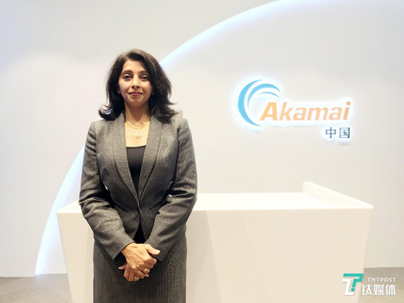 Akamai Web业务部全球售前副总裁Maha Pula
