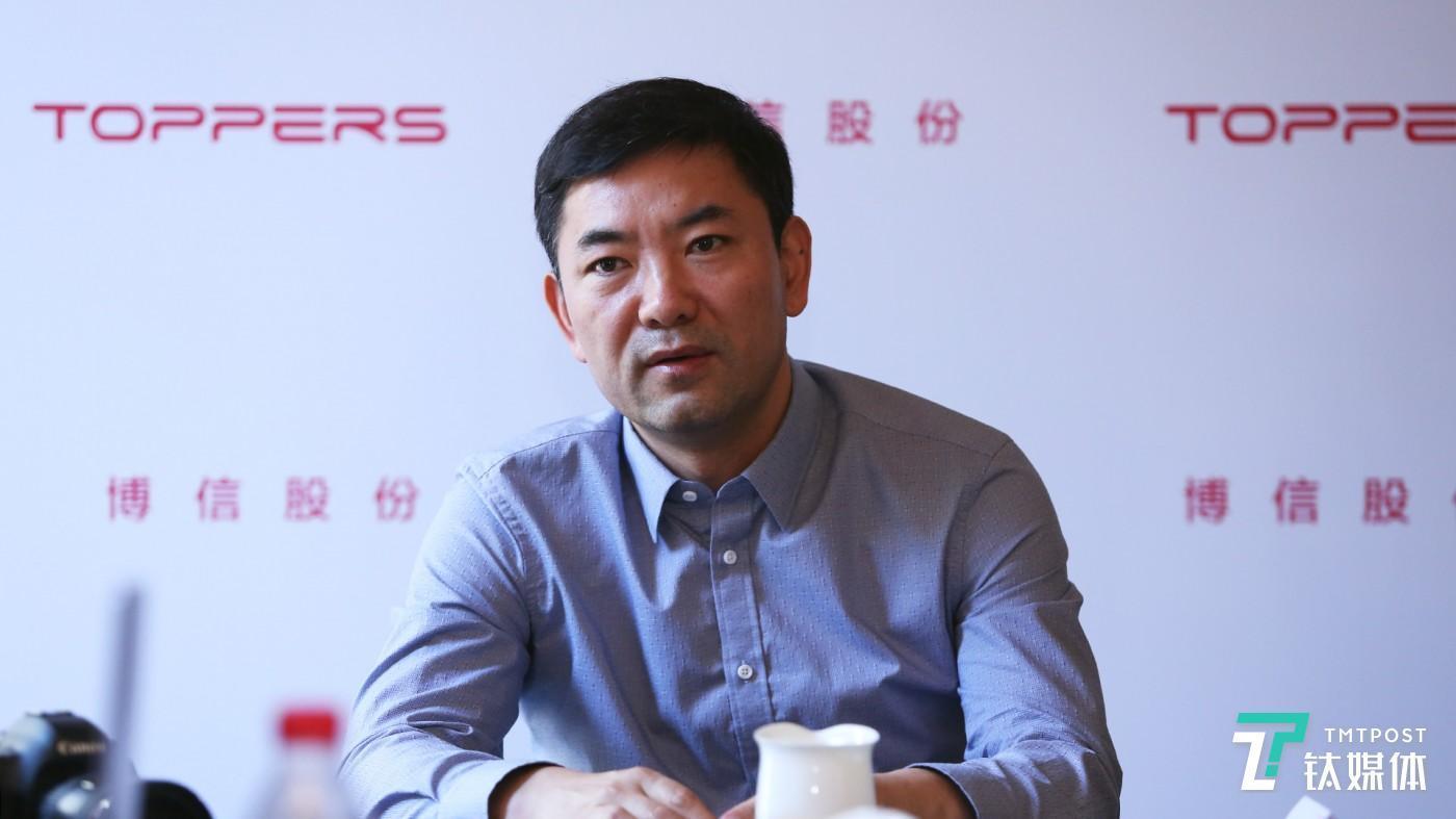 博信股份CEO 吕志虎先生接受钛媒体访问