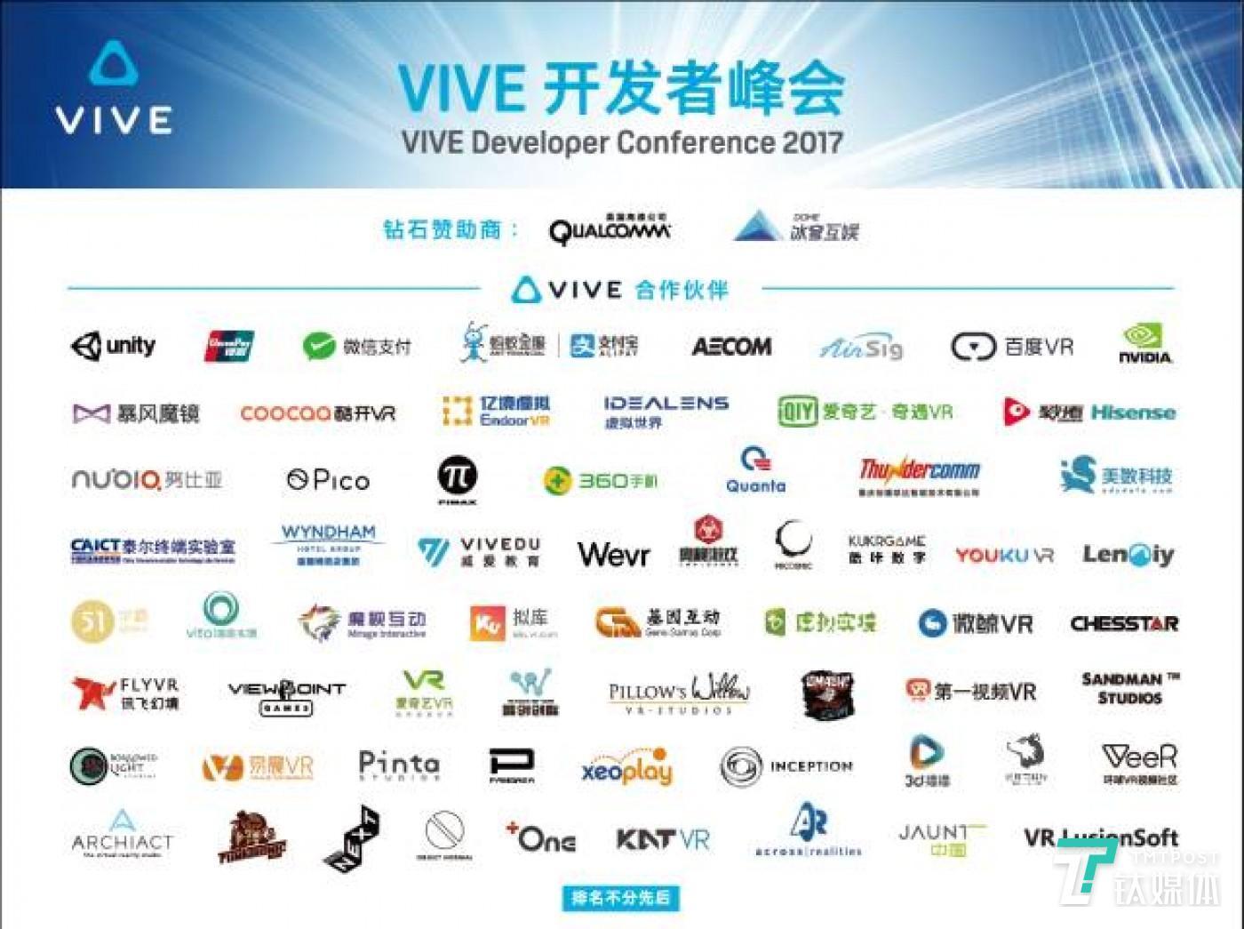 Vive Wave 合作伙伴