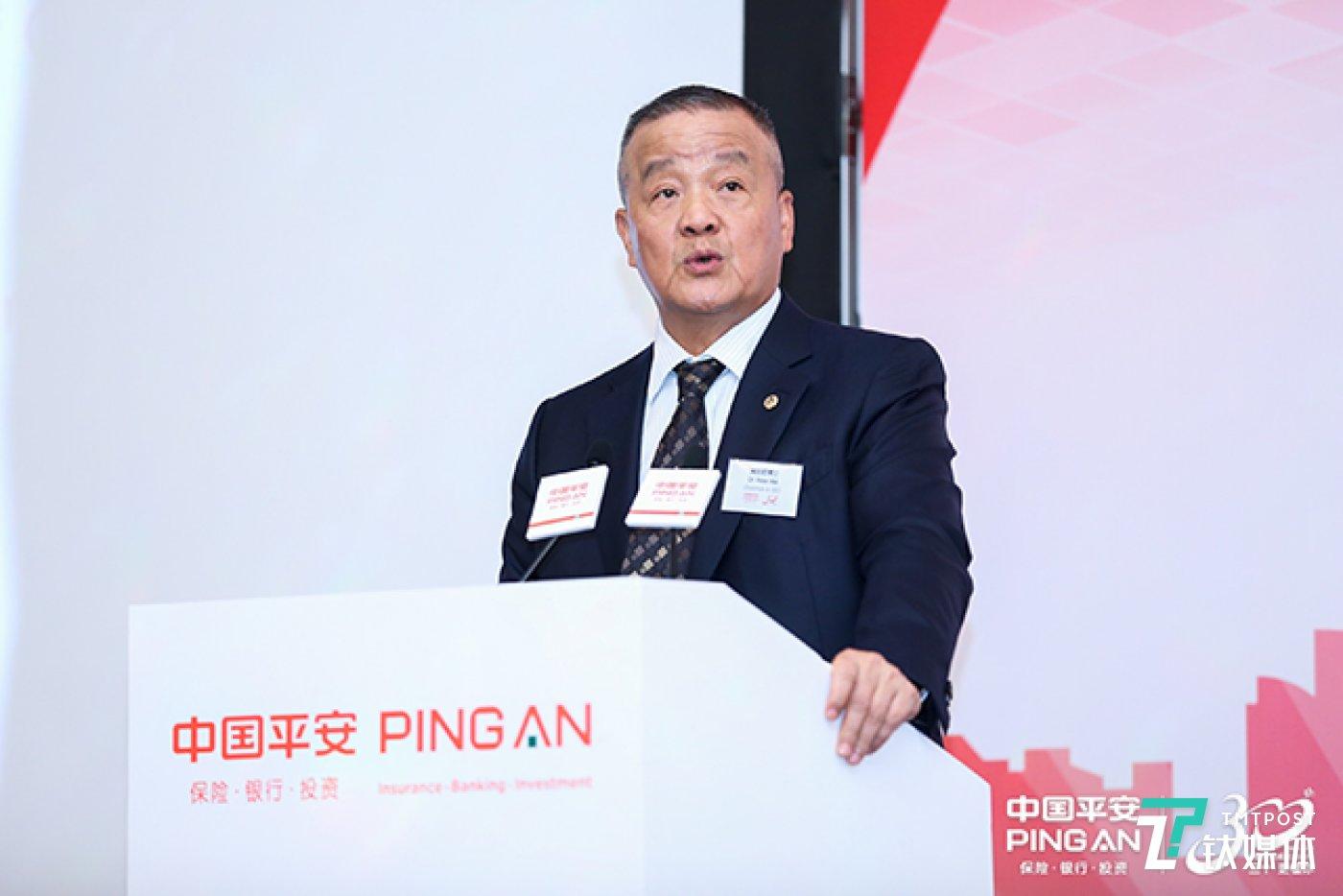 中国平安董事长兼首席执行官  马明哲