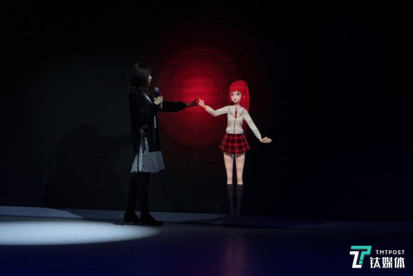 Touchlive:与虚拟偶像的指尖相触