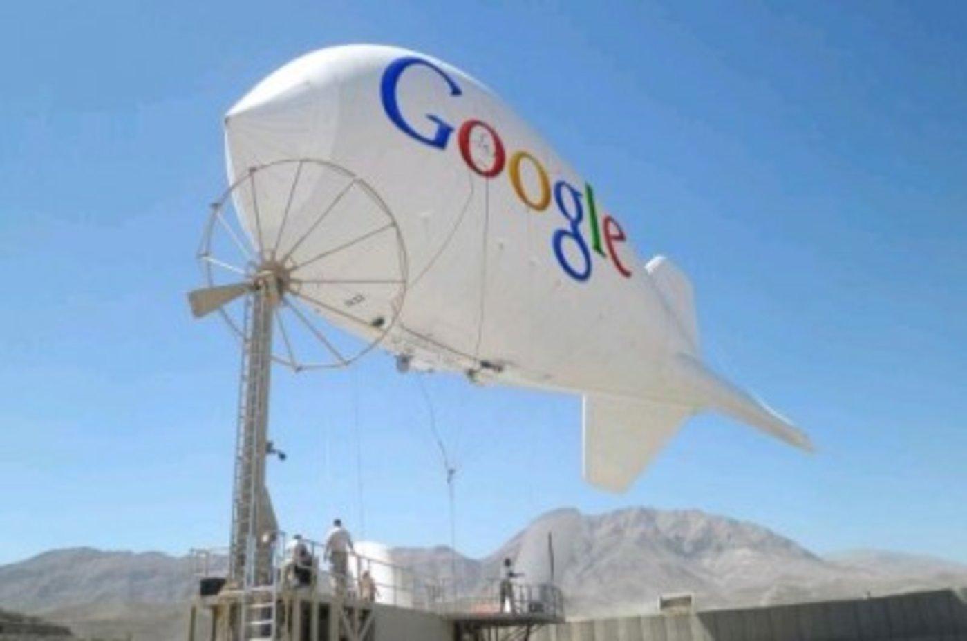 谷歌热气球