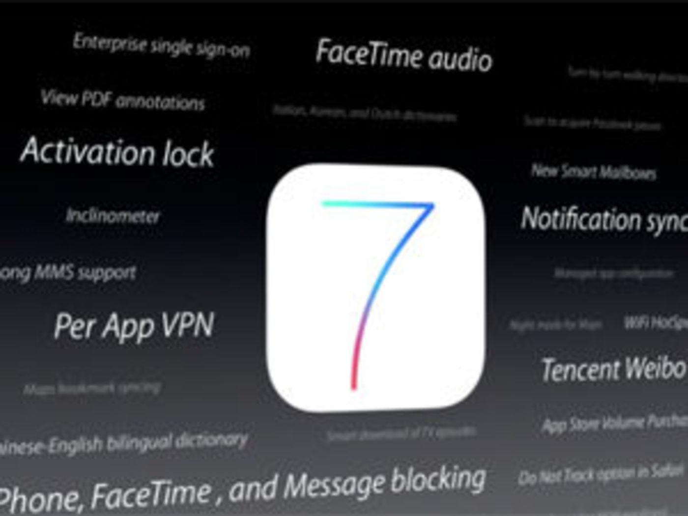 iOS 7——库克式的保守