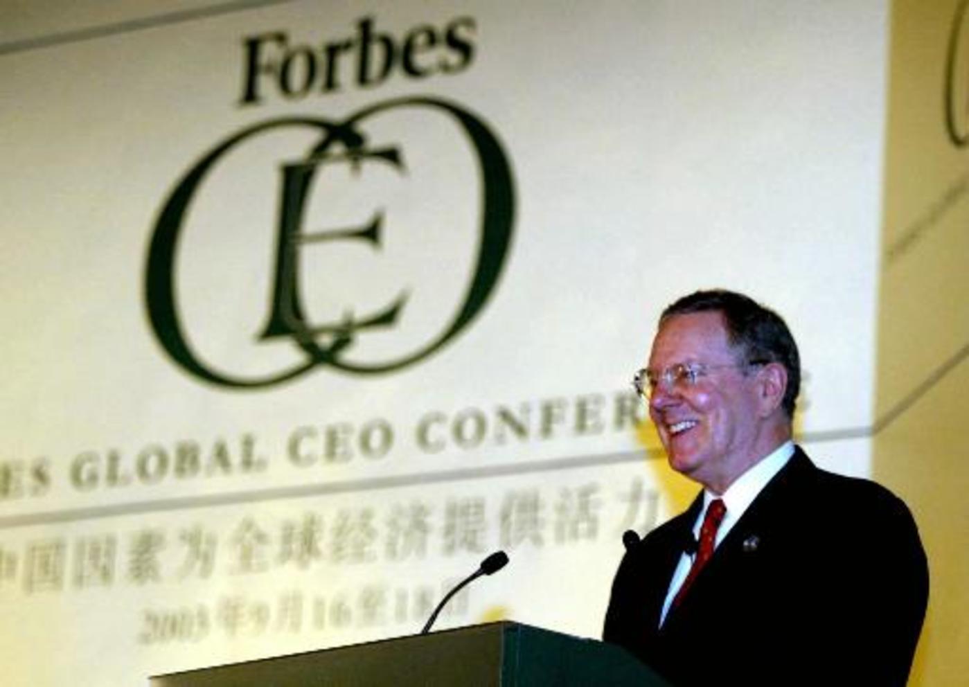 福布斯CEO榜单