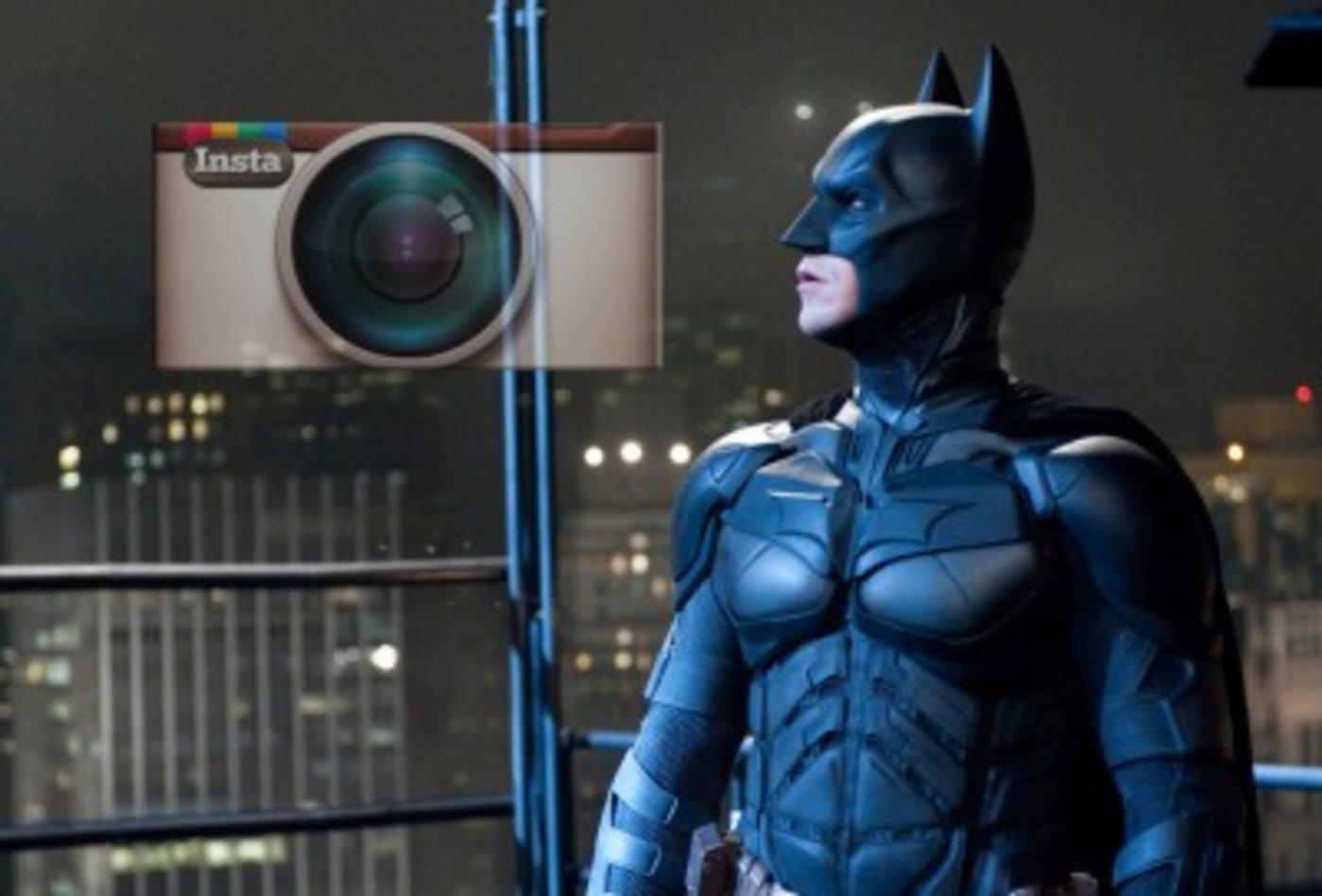 好莱坞大片《蝙蝠侠III》PK Instagram