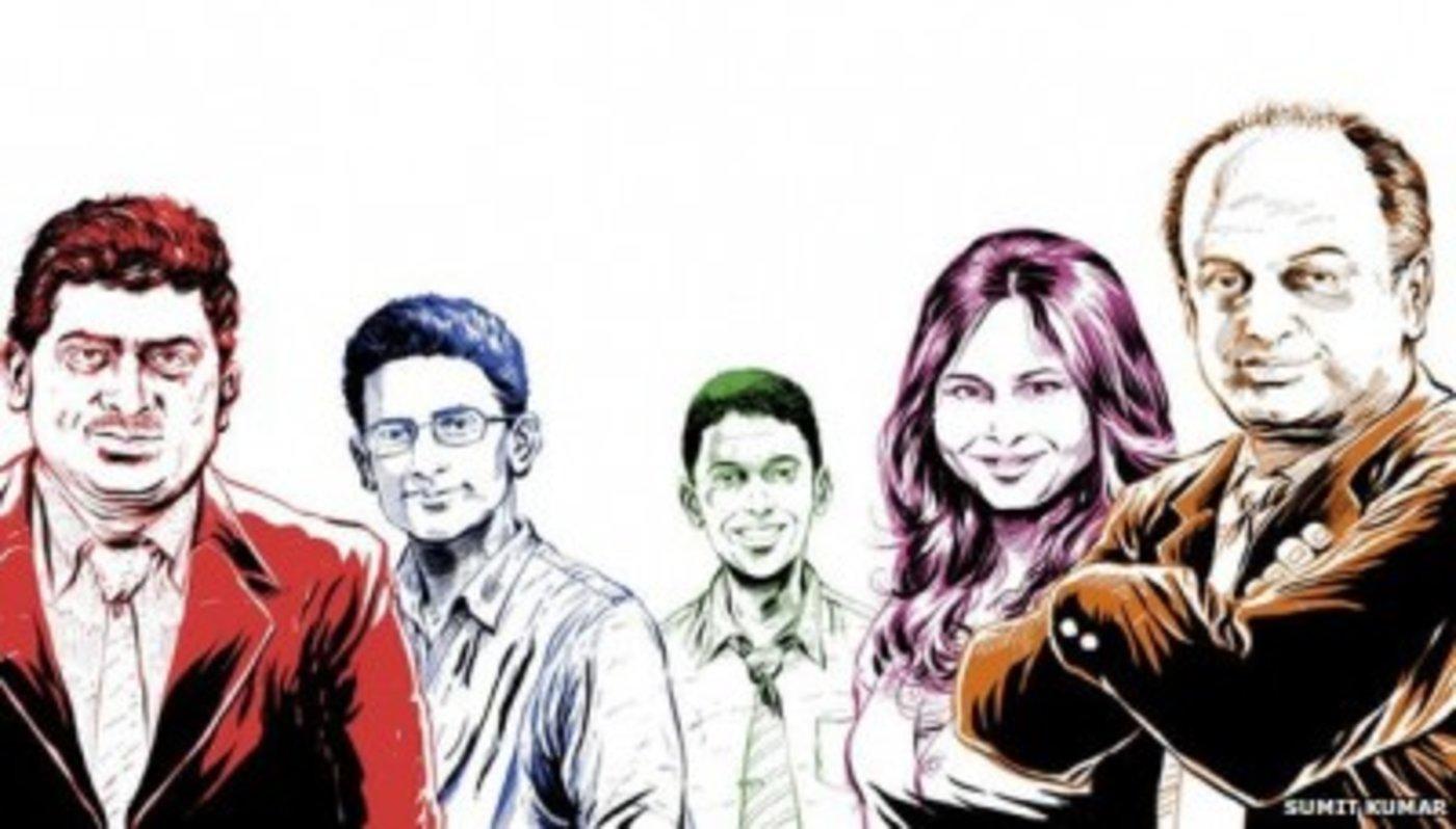 本文涉及的五位主人公:Nandan Nilekani、Ben Gomes、 Rikin Gandhi、Ruchi Sanghvi 和Sanjeev Bikhchandani